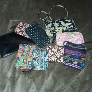 Mixed bag, pouch, wallet lot